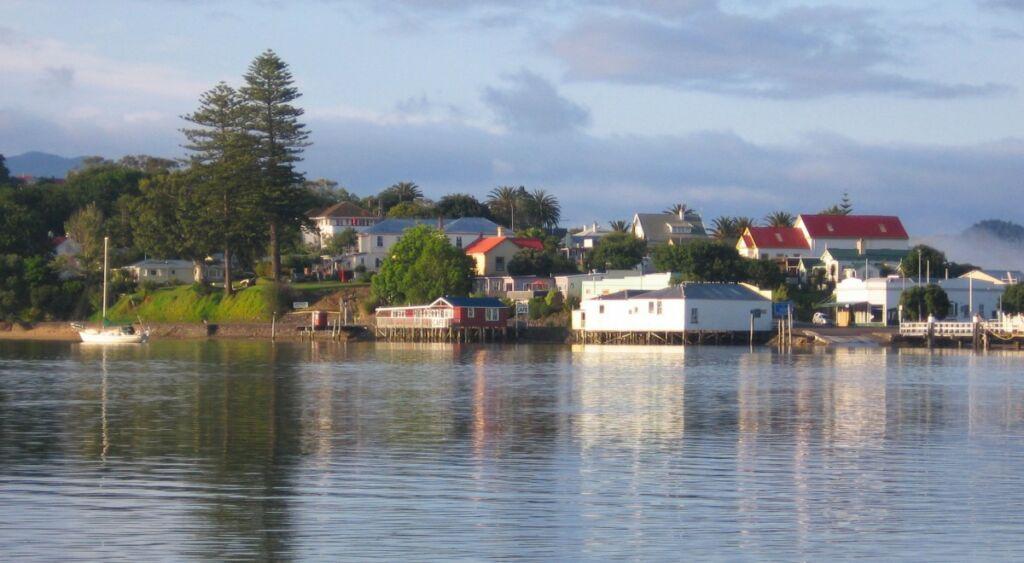 Rawene township, Hokianga Harbour